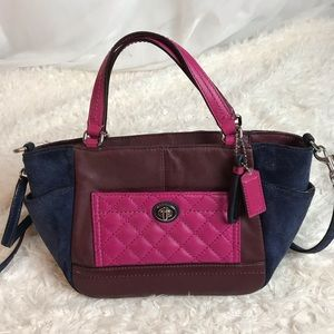 Coach Park Quilted Leather Mini Crossbody F49865